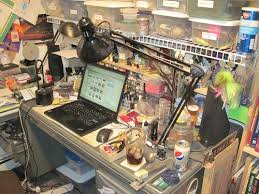 Diy Fly Tying Desk Everyday Fly Tying Tips Global Flyfisher I Am As Likely To Sit