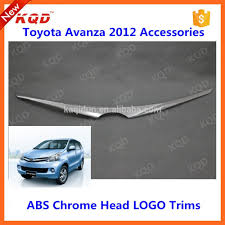 toyota avanza front grille chrome molding for toyota avanza parts
