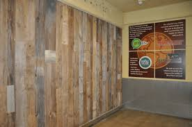 repurposed wood wall reclaimed wood chicago commercial reclaimed wood projects