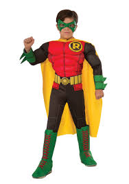 Batman Robin Halloween Costumes Girls Dc Comics Deluxe Child Robin Costume