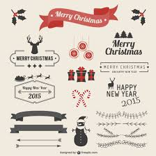 most recent free christmas graphic resources for designers 2015