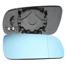 car door mirror glass car right driver side door wing mirror glass blue for vw golf mk4