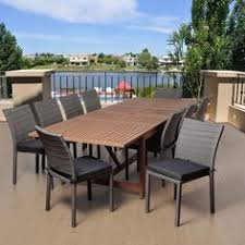 Unique Patio Creations Backyard Creations 6 Piece Avondale Balcony Dining Collection At