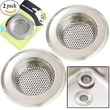 Kitchen Sink Drain Diameter 2pcs Kitchen Sink Drain Strainer Stainless Steel Sink
