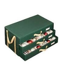 real simple 112 count ornament storage box ornament