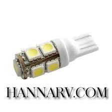 green longlife 5050114 t10 wedge base tower rv led light bulb cool