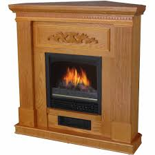 electric fireplace with mantle oak walmart com idolza
