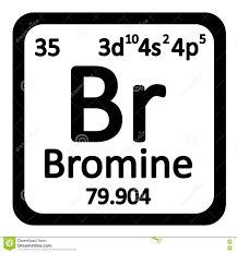 Br Element Periodic Table Periodic Table Element Bromine Icon Stock Illustration Image