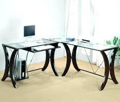 Glass Desk Office Depot Glass Desk Office Depot Bethebridge Co
