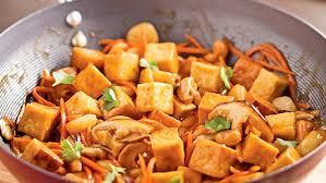 cuisiner le tofu ferme sauté de tofu à l orange et