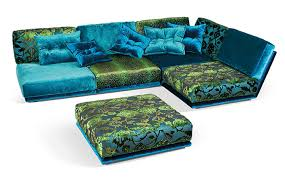 Floral Couches Furniture Awesome Sectional Couches In Colorful And Floral Patten