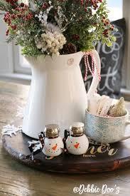 snowmen dollar craft hostess gift idea debbiedoos