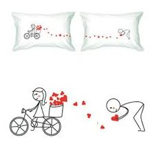 his and hers pillow cases his and hers pillowcases oh so girly