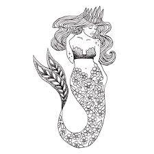 sketchbook mermaid coloring makers bakers movers u0026 shakers