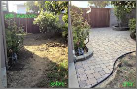 how to build a patio with pavers lowes home outdoor decoration