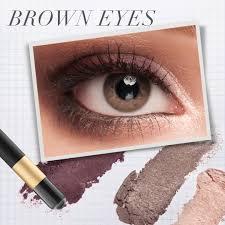 brown opposite color eye makeup for every eye color brown green u0026 blue eyes jane