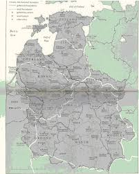 Map Of Lithuania Early Maps Of Lyakhovichi From 15th To 19th Centuries