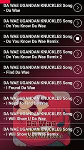 Meme Ringtones - da wae ugandan knuckles song ringtones 1 0 apk androidappsapk co