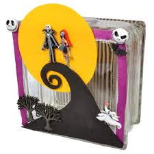 the nightmare before christmas glass block dress it up