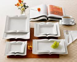savvy housekeeping book shaped dishes