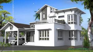 kerala style house plans low cost youtube
