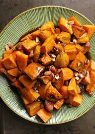 the bitten word thanksgiving 2012 sweet potatoes with bourbon