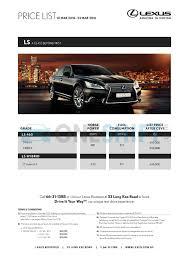 lexus singapore service package lexus singapore printed car price list oneshift com