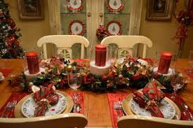 christmas decoration ideas for dining room table christmas dining