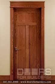 craftsman style custom interior wood doors custom wood interior