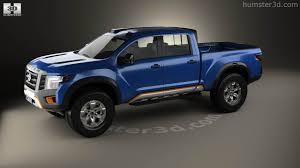 nissan titan concept truck 360 view of nissan titan warrior 2016 3d model hum3d store