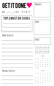 free printable daily planner pages 2014 agenda printables daway dabrowa co