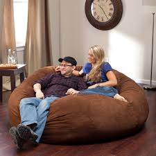 fuf 5 ft king comfort suede bean bag sofa hayneedle