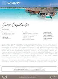 what is a chef de cuisine description chef de cuisine vacancy at at kanuhura maldives