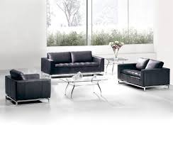 Black Living Room Furniture Sets by Couch Leather Sofa Black Sectional Chaise 2 Pc Living Room Set