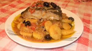cuisine portugaise morue morue portugaise pomme de terre tomate olive façon