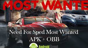 nfs most wanted apk free mod need for speed most wanted apk obb data file