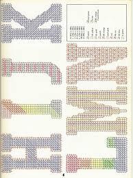 free printable halloween plastic canvas patterns plastic canvas letter patterns google search plastic canvas