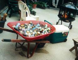 Backyard Graduation Party by Menu Planning