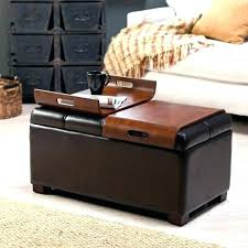 grey leather storage ottoman lovely leather storage ottoman coffee table leather ottoman coffee
