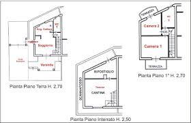 piano floor plan ref 308 terraced house for sale in massa agenzia tecnico