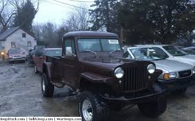 jeep used parts for sale used jeeps and jeep parts for sale 49 w o pickupthat needs to be