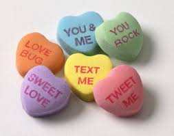 heart candy sayings win it wednesday sweethearts basket 100 value