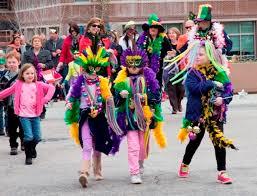 mardi gras parade costumes forest mardi gras festival triangle on the cheap