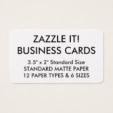 Business Card Sheet Template Standard Business Cards U0026 Templates Zazzle