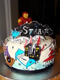 layers of love strata iron man cake