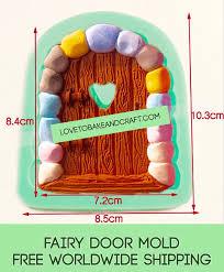 Fairy Door by Fairy Mold Door Mold Fairy Door Mould Castle Mold Fairy House