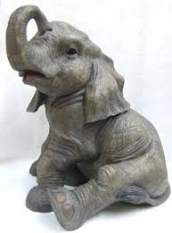 out of africa large resin elephant ornament co uk kitchen