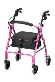 senior walkers with seat products get go classic rolling walker