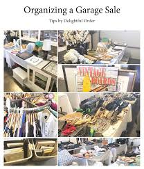 delightful order organized garage sale tips printables
