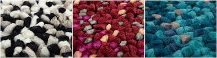 Rug Wool Yarn Making A Wool Or Felt Rug